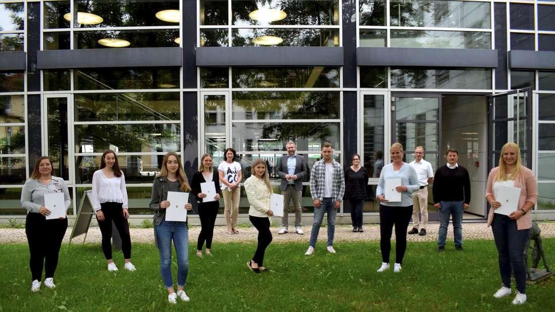 Absolventen der Stadtverwaltung Lüdenscheid