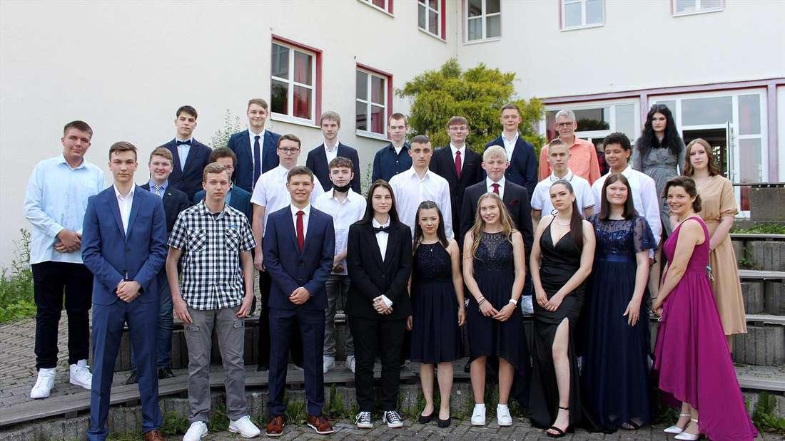 Abschlussklasse 10a der Freie christliche Realschule Lüdenscheid