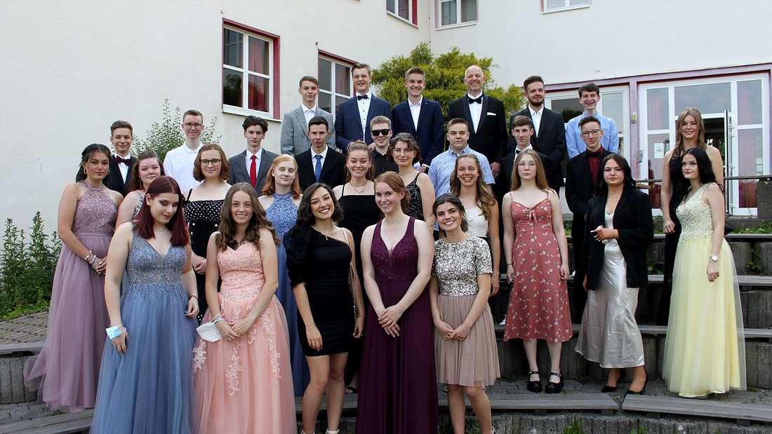 Abschlussklasse 10b der Freie christliche Realschule Lüdenscheid