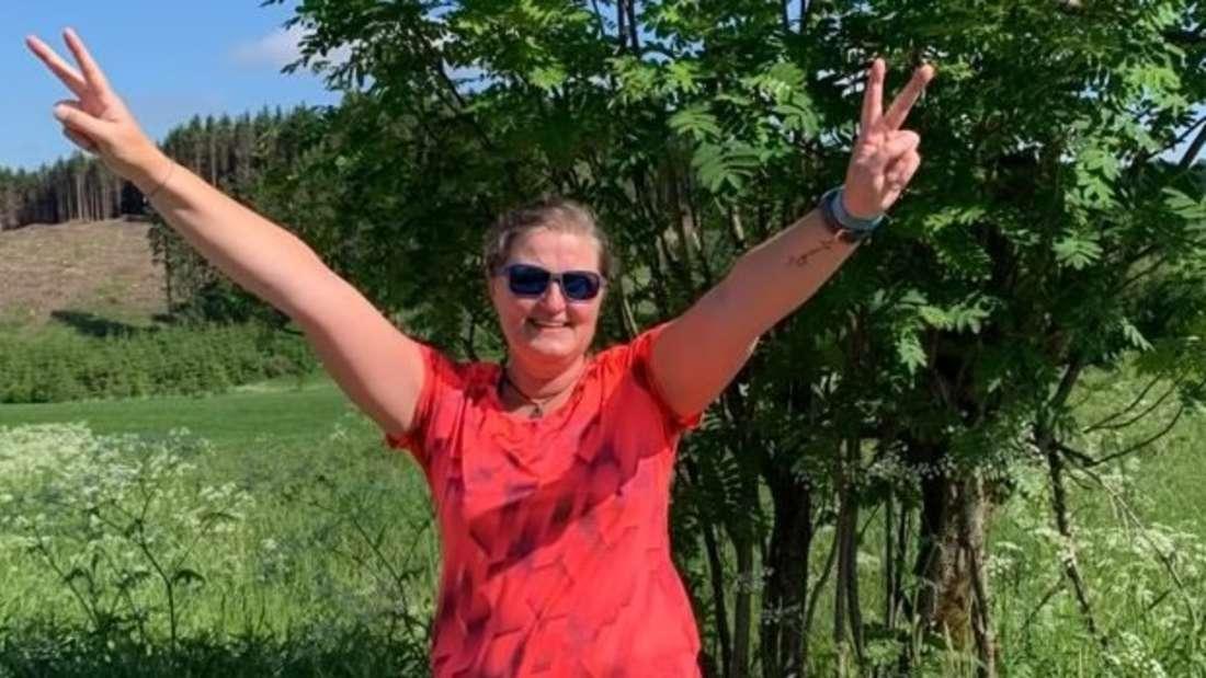 Die Lebensfreude ist zurück: Sandra Guth hat gelernt mit ihrer Herzerkrankung zu leben. Sie joggt mittlerweile wieder bis zu fünf Kilometer und unternimmt auch Wanderungen.
