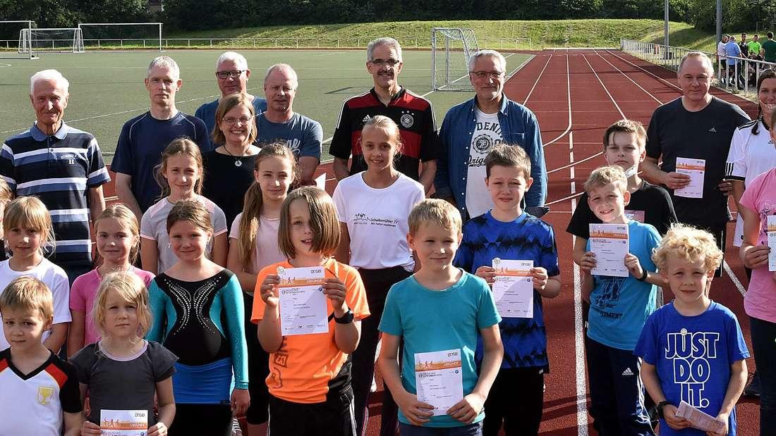Verleihung Sportabzeichen Sportbär Halver