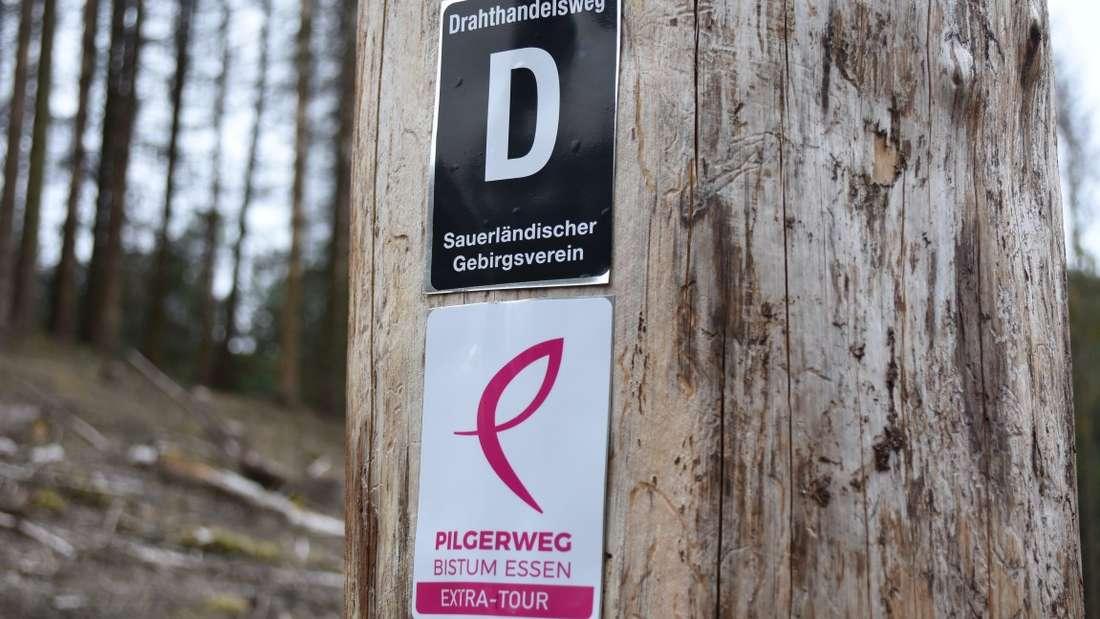Einer der beliebtesten Wanderwege im MK - zu erkennen am Wanderzeichen mit dem D - feiert Geburtstag.