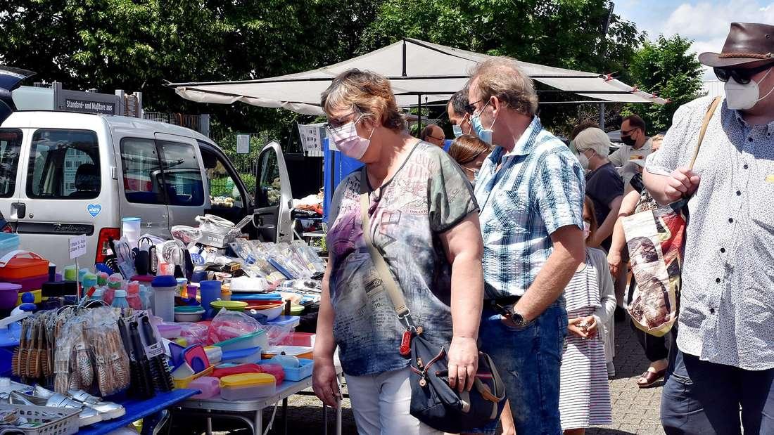 Am Sonntag findet erneut ein Flohmarkt in Halver statt.