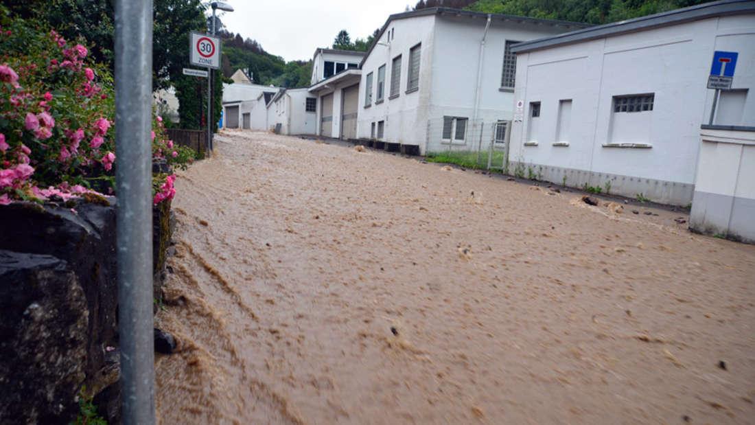 Unwetter in Lüdenscheid