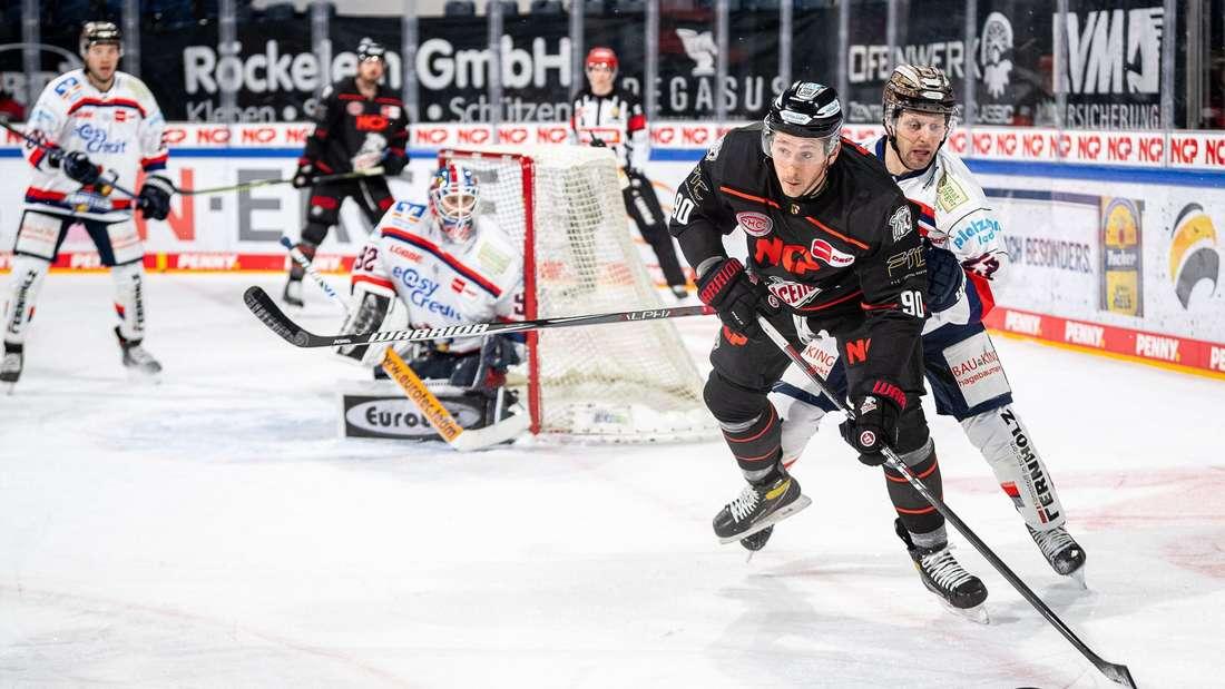 Eishockey Laufduell