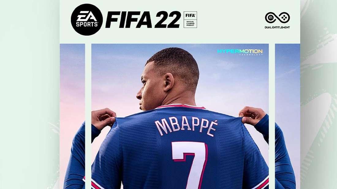 Kylian Mbappe FIFA 22 Cover