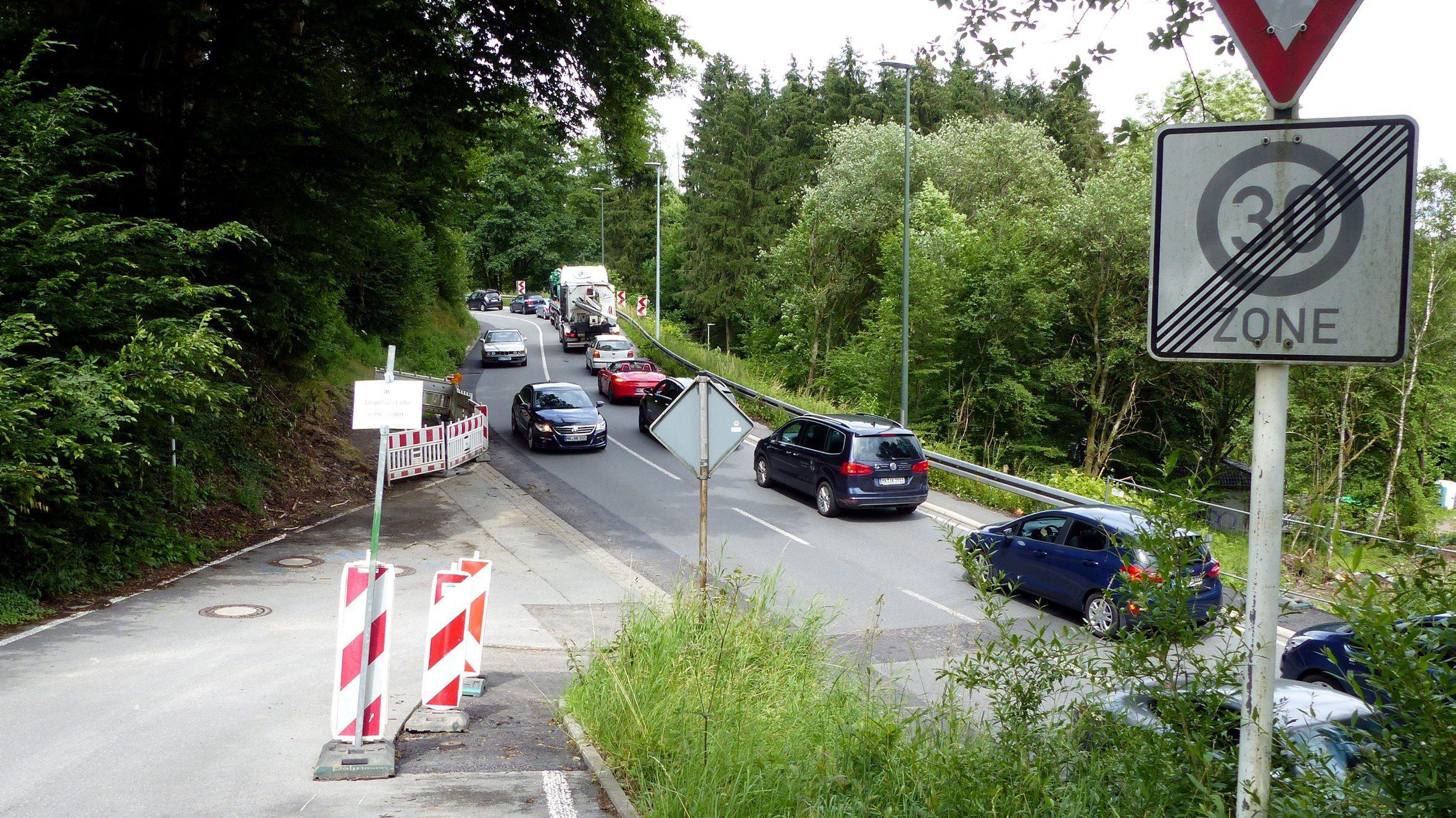 Einschränkungen für Autofahrer: Vollsperrung der B229 ab dem 18. August