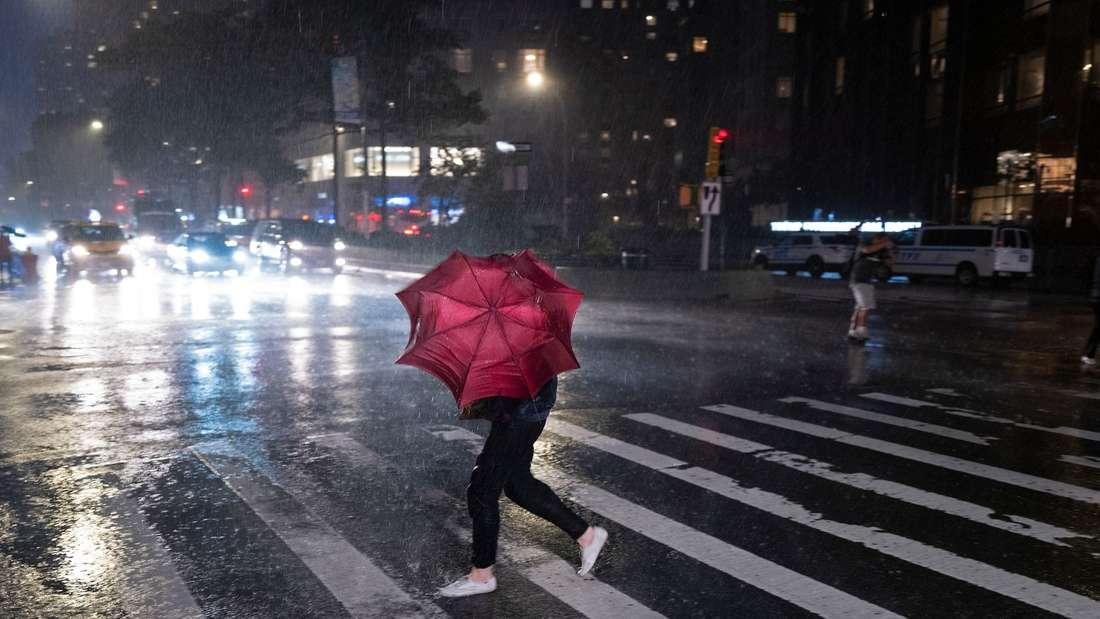 Unwetter in New York