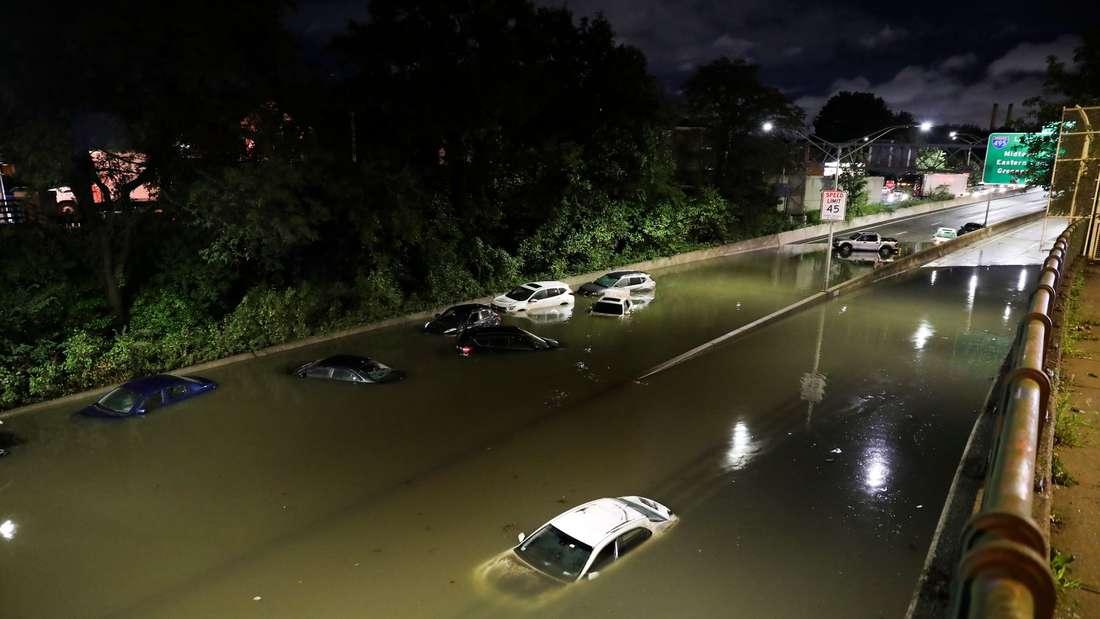 """Hurrikan """"Ida"""" in den USA"""