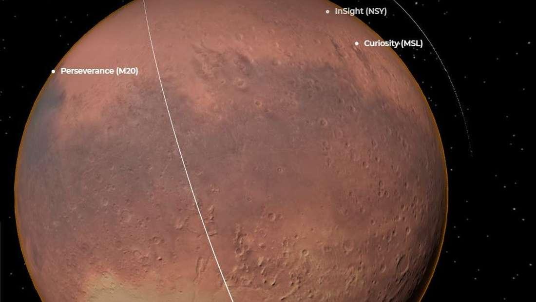 Nasa auf Mars-Mission