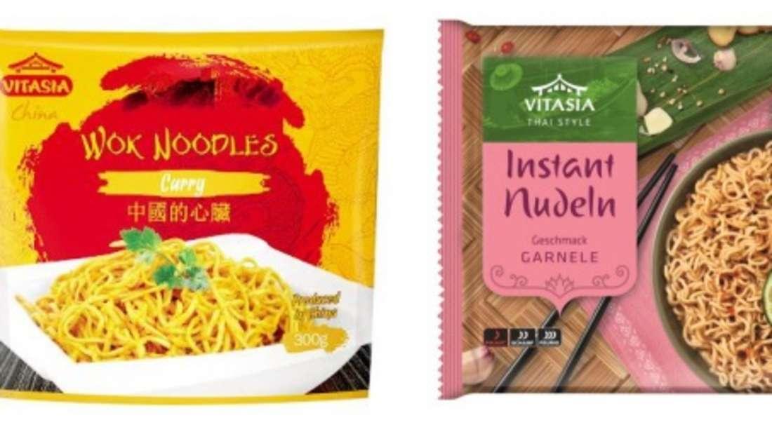 Rückruf bei Lidl: Diese zwei Nudel-Produkte sind betroffen.