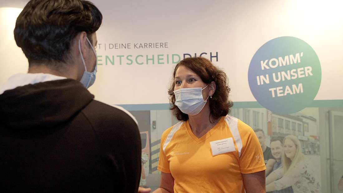 Ausbildungsmesse ZAK im Kulturhaus Lüdenscheid