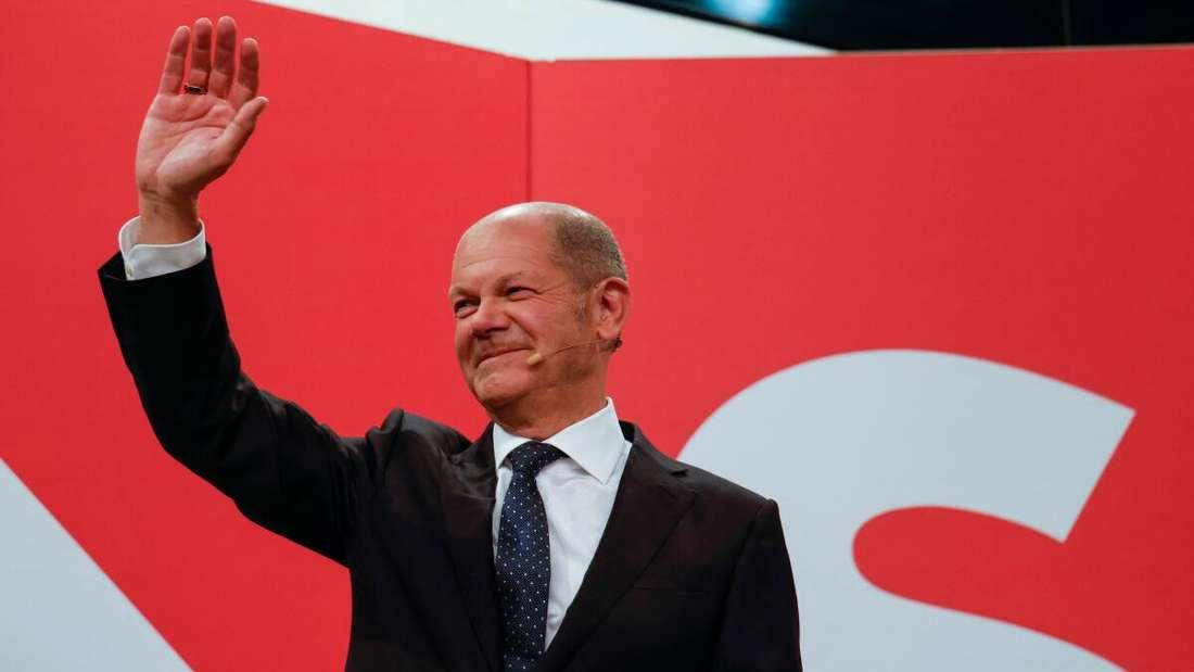 SPD-Kanzlerkandidat Olaf Scholz.