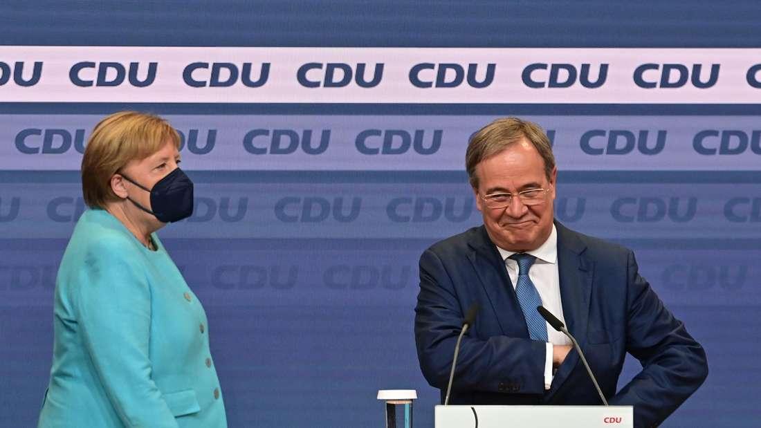 Wahlparty CDU/CSU