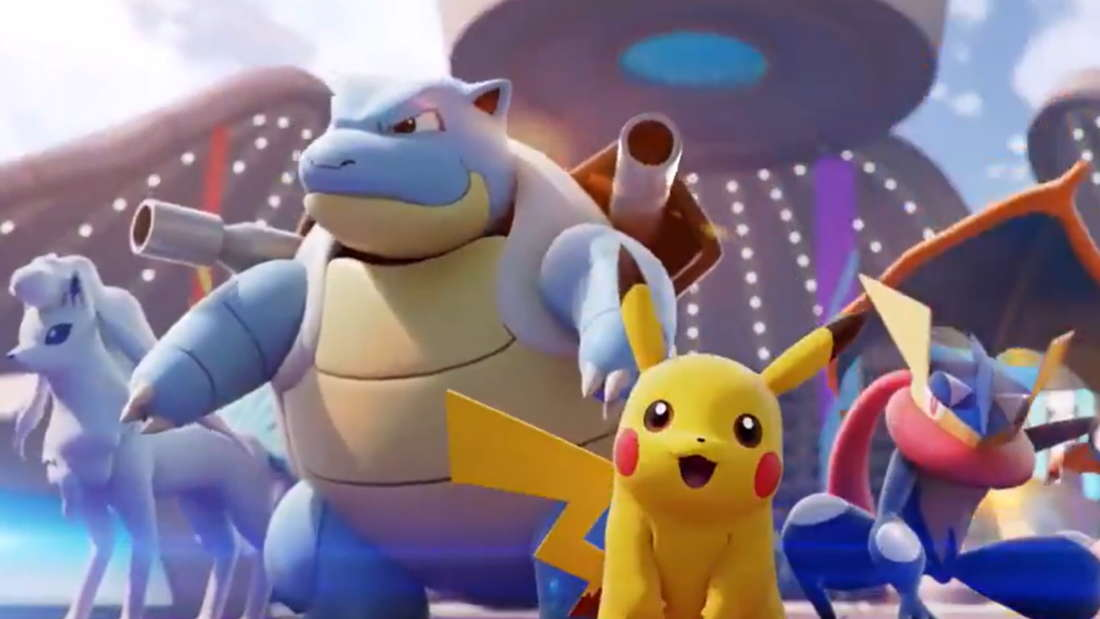 pikachu turtok vulnona quajutsu pokemon unite
