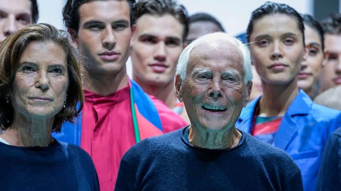 Fashion Week in Mailand - Armani
